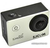 Экшен-камера SJCAM SJ4000 WiFi (серебристый)