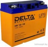 Аккумулятор для ИБП Delta HR 12-18 (12В/18 А·ч)
