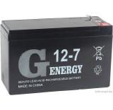 Аккумулятор для ИБП G-Energy 12-7 F1 (12В/7 А·ч)