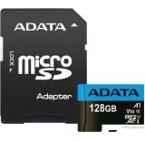 Карта памяти A-Data Premier AUSDX128GUICL10A1-RA1 microSDXC 128GB (с адаптером)