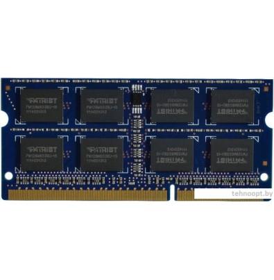 Оперативная память Patriot 2GB DDR2 SO-DIMM PC2-6400 (PSD22G8002S)