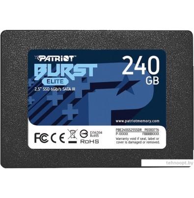 SSD Patriot Burst Elite 240GB PBE240GS25SSDR