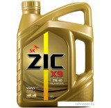 Моторное масло ZIC X9 5W-40 4л